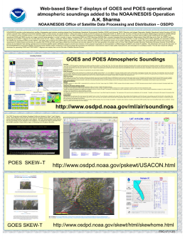 Web-based Skew-T displays of GOES and POES operational