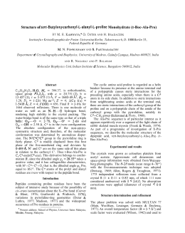 of tert-Butyloxycarbonyl-L-alanyl-L-proline