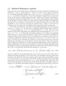 1.4 Backward Kolmogorov equation
