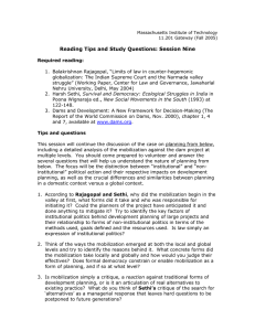 Reading Tips and Study Questions: Session Nine