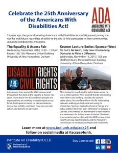 Celebrate the 25th Anniversary of the Americans With Disabilities Act!