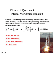 Chapter 5, Question 3: Integral Momentum Equation