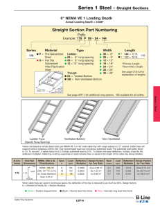 "Straight Section Part Numbering 6"" NEMA VE 1 Loading Depth Prefix"