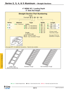 Series 2, 3, 4, & 5 Aluminum - Straight Sections