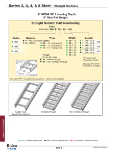 Series 2, 3, 4, & 5 Steel - Straight Sections