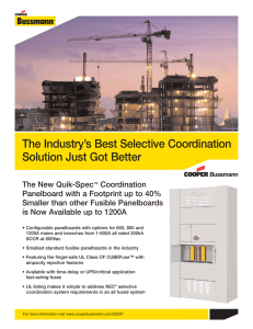 The Industry's Best Selective Coordination Solution Just Got Better
