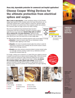 Choose Cooper Wiring Devices for the ultimate protection from electrical