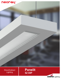 Panelit 52 DIP Direct/Indirect Lighting