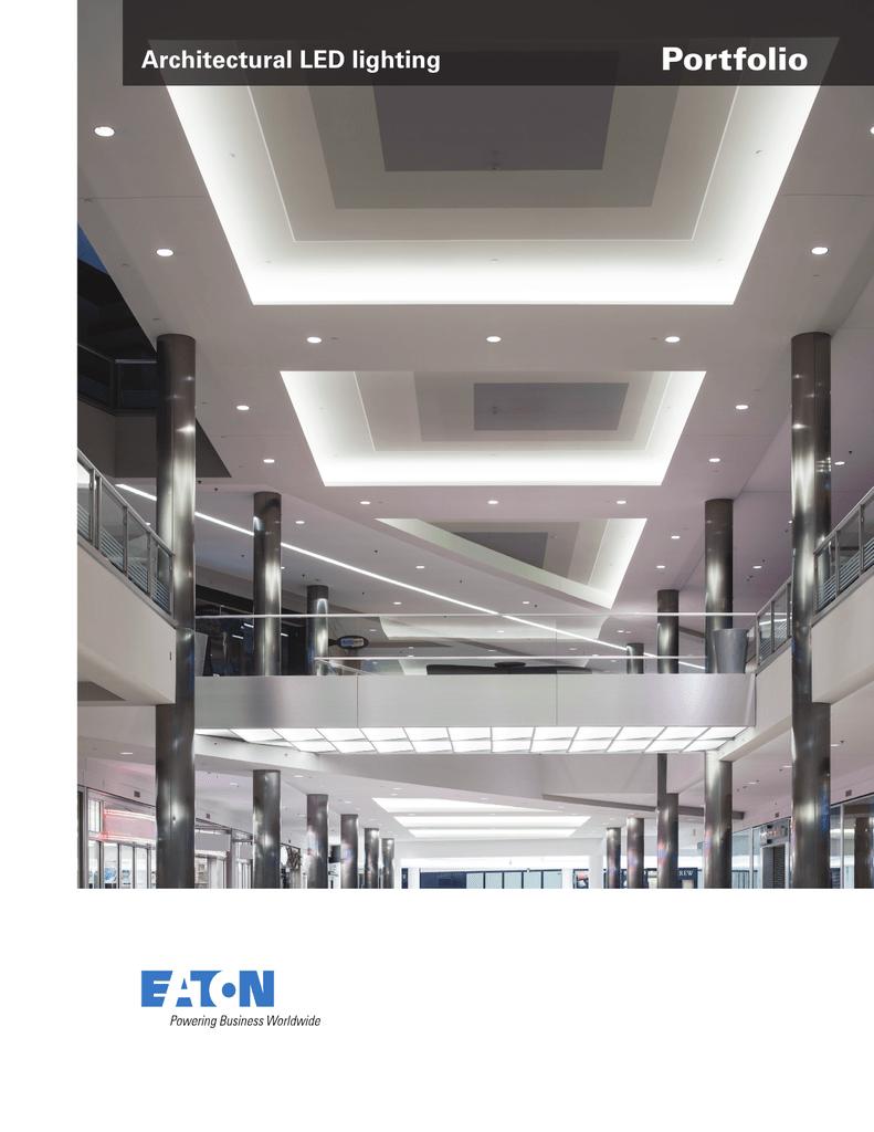 Portfolio Architectural Led Lighting