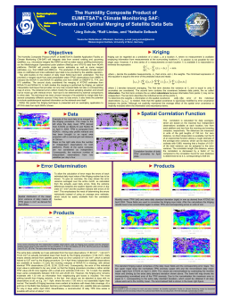 The Humidity Composite Product of EUMETSAT's Climate Monitoring SAF: