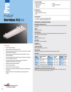 Master Cross Reference - Universal Lighting Technologies on