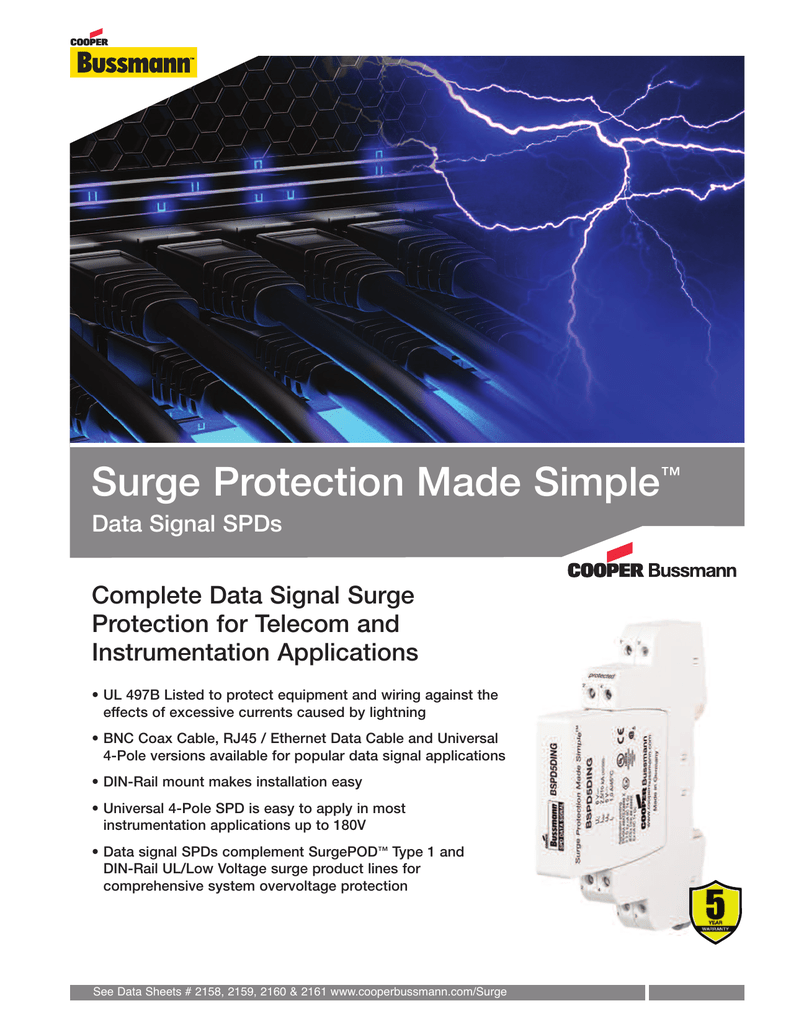 Surge Protection Made Simple Complete Data Signal Telecom Wiring Diagram Rj45 For And