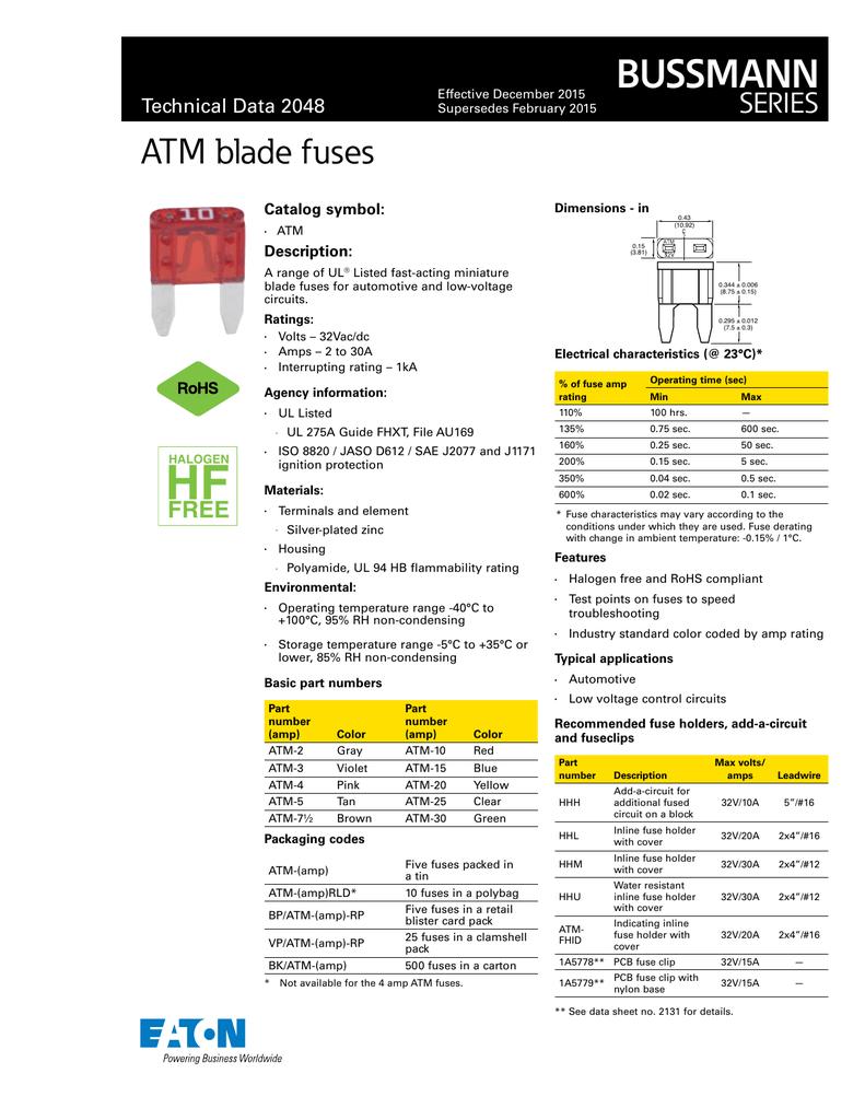 Conext Link ATM3-25 ATM Fuse 25 Pack 3 Amp