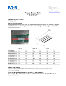 Product Change Notice PCN#: EE-PCN16020 March 14, 2016