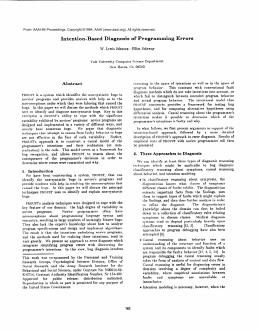 Midterm examination report