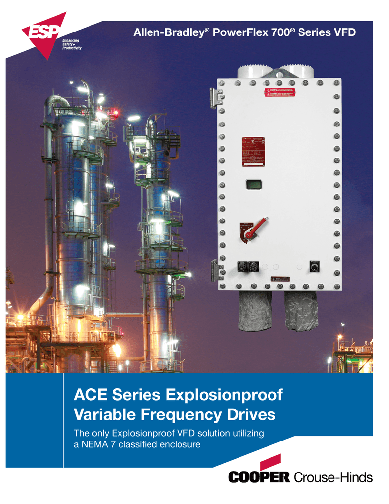 ACE Series Explosionproof Variable Frequency Drives Allen-Bradley