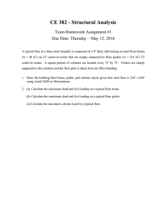 CE 382 - Structural Analysis Team Homework Assignment #1