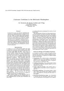 Customer  Coalitions  in  the  Electronic ... M.  Tsvetovat,  K.  Sycara,  Y.Chen ...