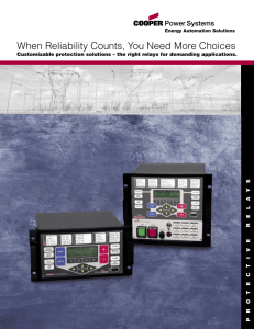 When Reliability Counts, You Need More Choices S Y