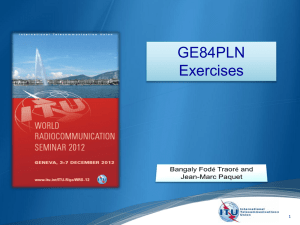 GE84PLN Exercises 1