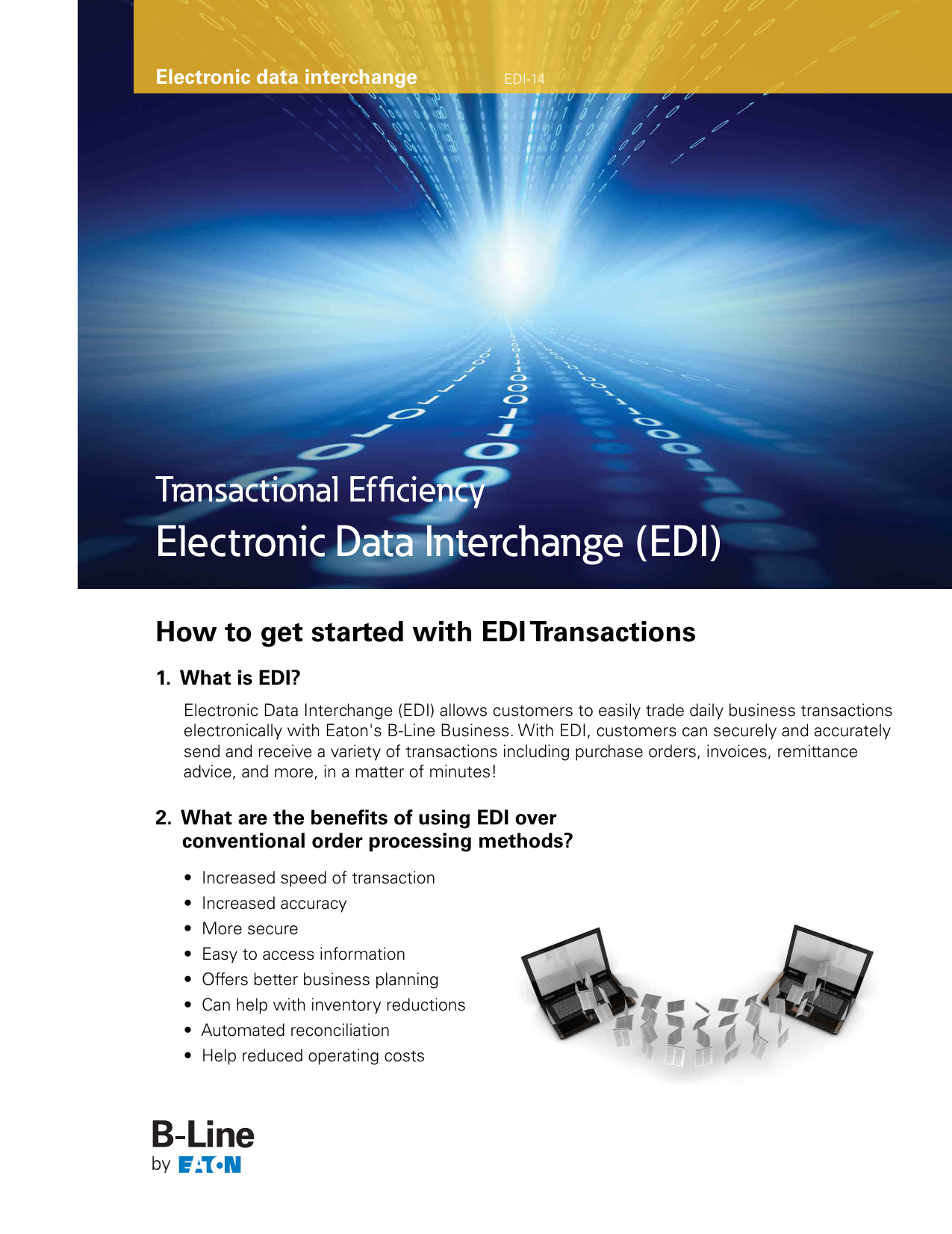 Electronic Data Interchange (EDI) Transactional Efficiency 1