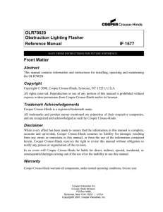 OLR70020 Reference Manual IF 1577