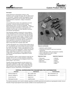 Murata Supercapacitor (EDLC) Technical note (DMF, DMT/ Version