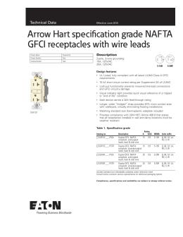 SmartlockPro® Self-Test GFCI Indicators on