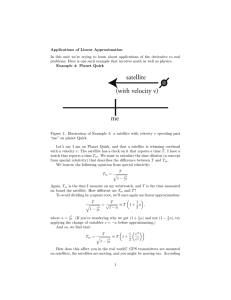 Applications  of  Linear  Approximation