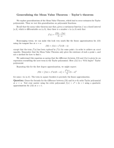 Generalizing  the  Mean  Value  Theorem  –...