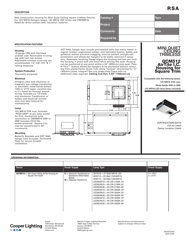 R S A Catalog Type Jesco Led Wiring Diagrams