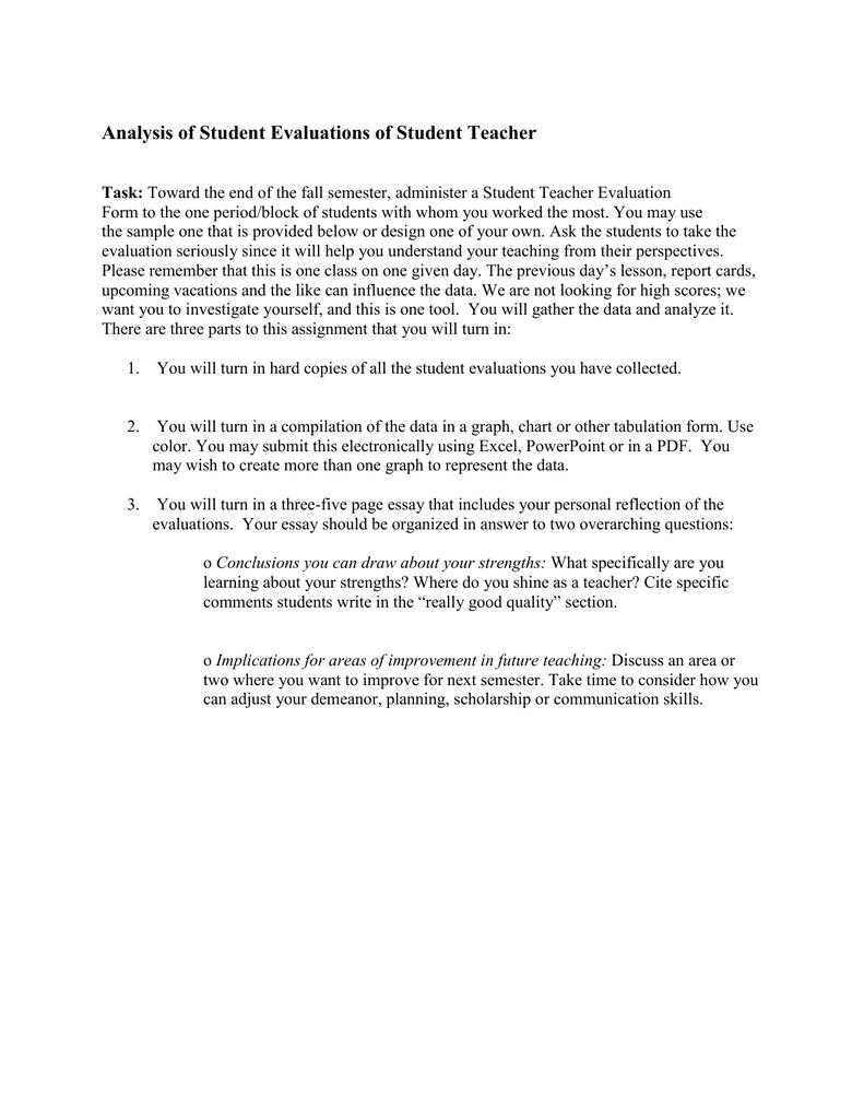 student teaching application essays