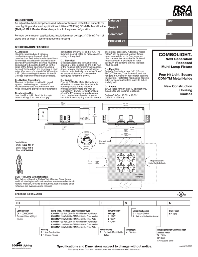 Catalog Type Project Comments Metal Halide Wiring Diagram For An Light Fixture