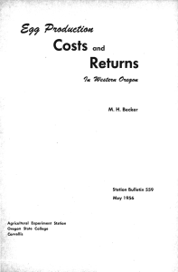 5 Returns Costs and
