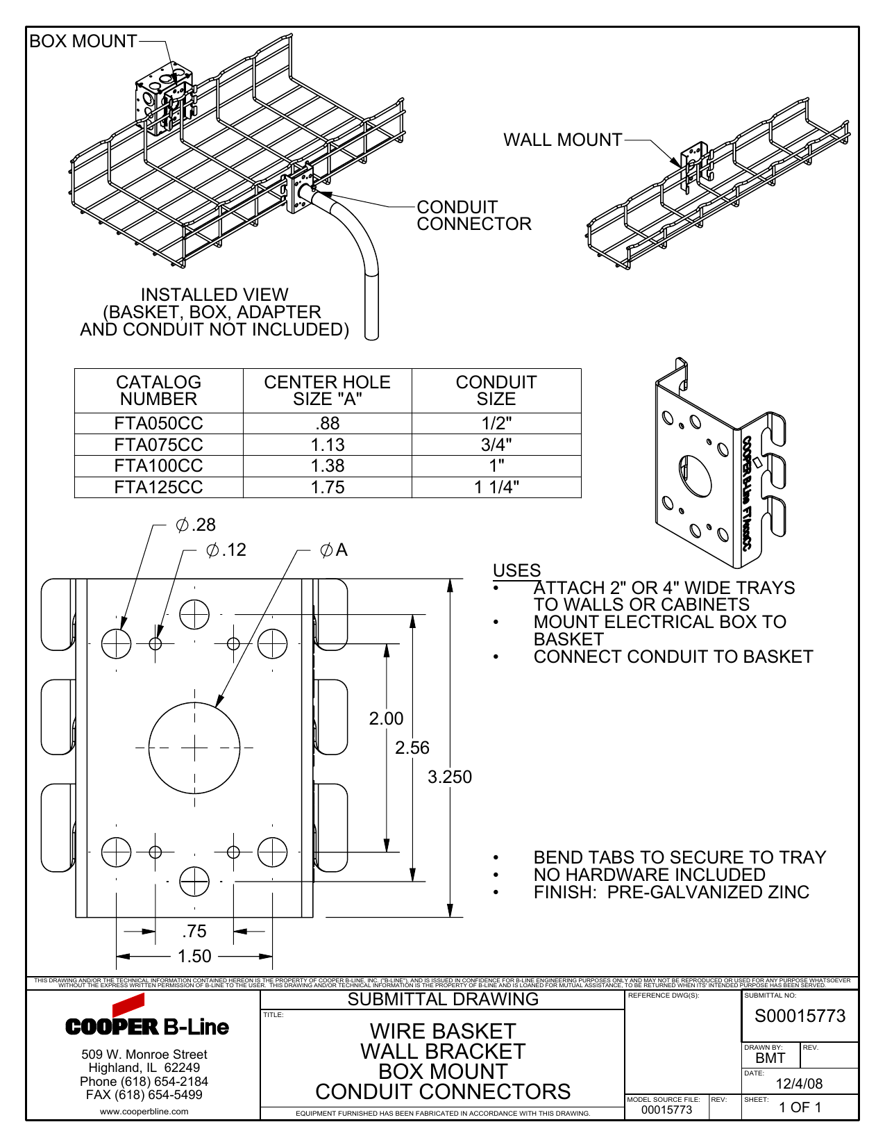 Box Mount Wall Conduit Connector Telephone Wiring Diagram For
