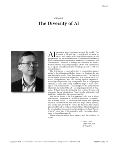 AI The Diversity of AI Editorial