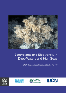 Ecosystems and Biodiversity in Deep Waters and High Seas Regional Seas