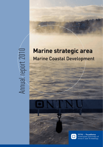 Annual report 2010 Marine strategic area Marine Coastal Development