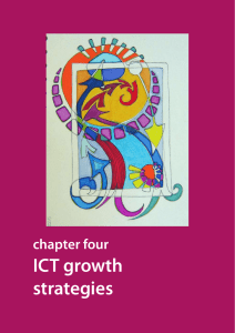ICT growth strategies chapter four Statistical Annex