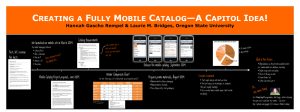 REATING A ULLY OBILE ATALOG