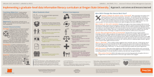 OREGON STATE UNIVERSITY LIBRARIES & PRESS