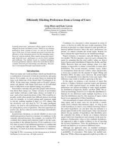 Efficiently Eliciting Preferences from a Group of Users