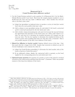 Econ 482 R. Jones due: 5 Aug 2010 Homework Set 2