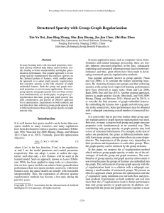Structured Sparsity with Group-Graph Regularization
