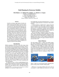 Path Planning for Dexterous Mobility