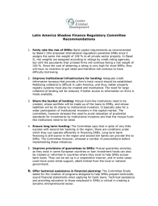 Latin America Shadow Finance Regulatory Committee Recommendations