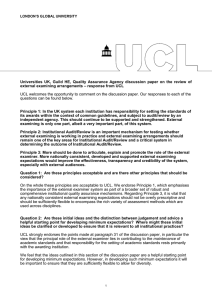 Universities  UK,  Guild  HE,  Quality ... – response from UCL