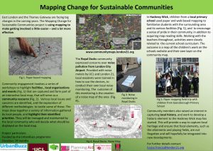Mapping Change for Sustainable Communities