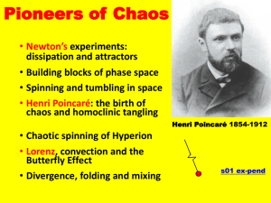 Pioneers of Chaos