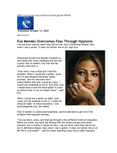 Eva Mendes Overcomes Fear Through Hypnosis